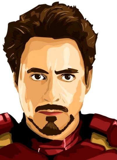 Iron Man Animated Wallpaper Starsportraits Retratos De Robert Downey Jr Por Thomas 6